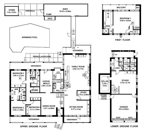 brady bunch house floor plan - photo #10